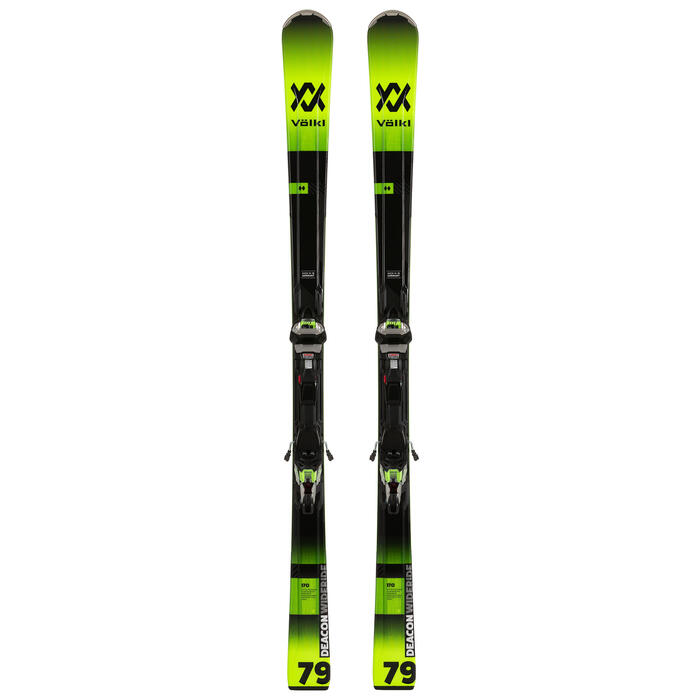 Volkl Men's Deacon 79 Skis with WideRide XL