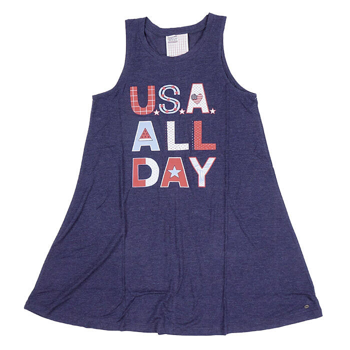 Jadelynn Brooke Women's USA All Day Tank Dr
