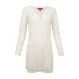 Krimson Klover Women's Harbor Laceup Knit Tunic