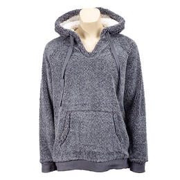 Dylan by True Grit Women's Cool & Cozy Berber Hoodie