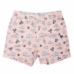 Party Pants Men's Moby Beaver Swim Shorts