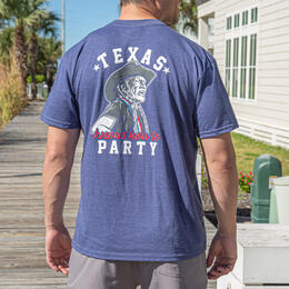 Burlebo Men's Texas Knows How To Party T-shirt