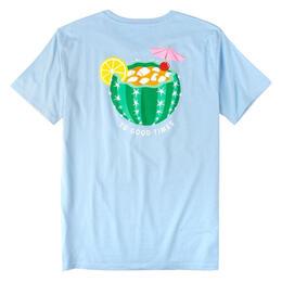 dcf7e3a005865 Rowdy Gentleman Men s Cactus Cocktail Short Sleeve T-shirt