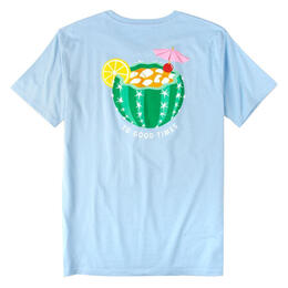 Rowdy Gentleman Men's Cactus Cocktail Short Sleeve T Shirt