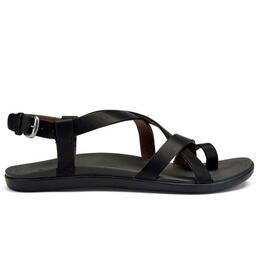 Olukai Women's Upena Casual Sandals Black