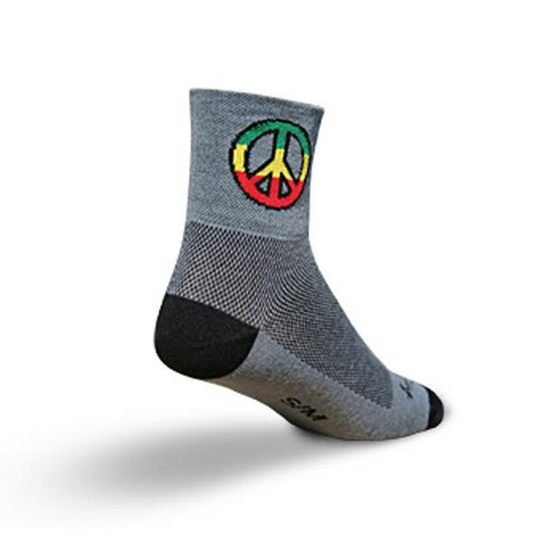 Sock Guy Peace Cycling Socks
