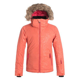 Roxy Girl's American Pie Solid Snow Jacket