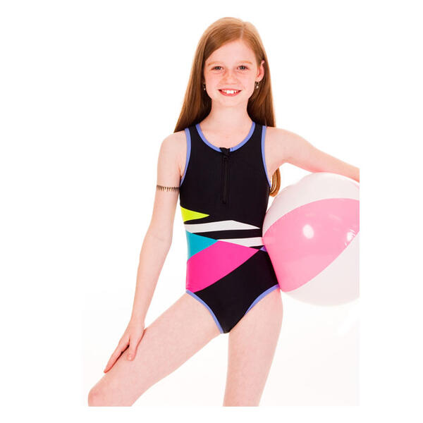 Limeapple Girl's Paradise One Piece Swimsuit