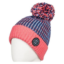 Roxy Girl's Snowflurry Pom Beanie