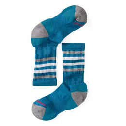 Smartwool Kid's Striped Hike Light Crew Socks