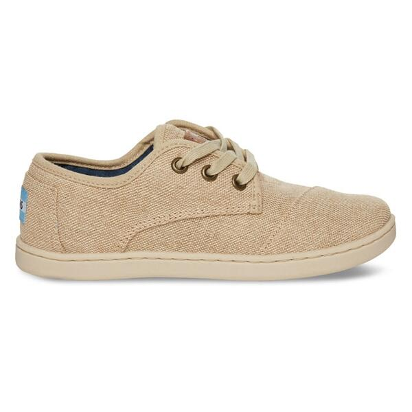 Toms Youth Burlap Paseo Classic Casual Shoes