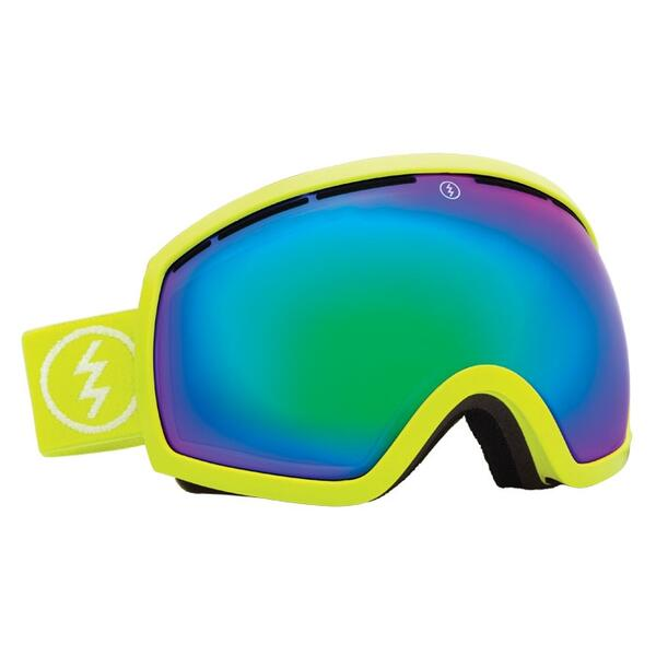 Electric EG2 Snow Goggles with Bronze/Green Chrome Lens