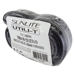 Sunlite Utili-T 700x18-23 (27x1) 48mm Presta Road Bicycle Tube