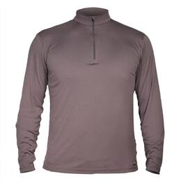 Hot Chillys Men's Peachskin Solid Zip Turtle Neck
