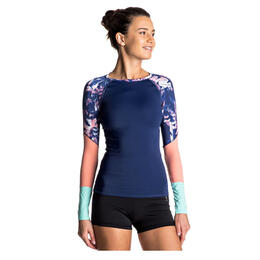 Roxy Women's Keep It Roxy Long Sleeve Rashguard