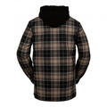 Volcom Men's Field Bonded Flannel Shirt