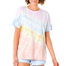 Rip Curl Women's Wipe Out Oversize Short Sleeve T Shirt