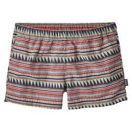 Patagonia Women's Barely Baggies Shorts Belay Stripe