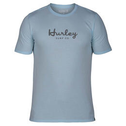 Hurley Men's Dri-fit Script Short Sleeve T Shirt