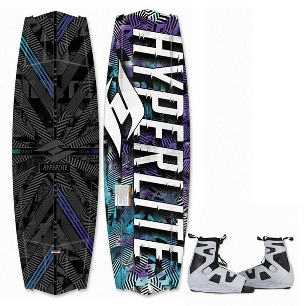 Hyperlite Men's Tribute Wakeboard w/ Team OT Bindings '13