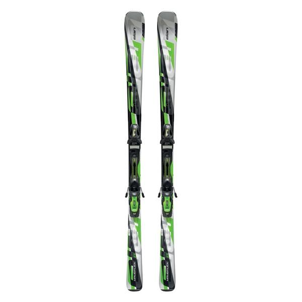 Elan Men's Waveflex 8 All Mountain Skis with EL 10.0 QT Bindings '13