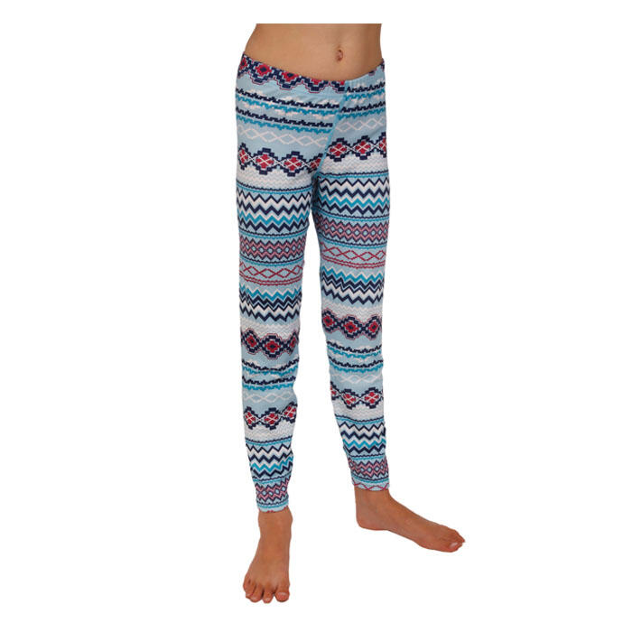 Hot Chillys Girl's Print Ankle Baselayer Ti
