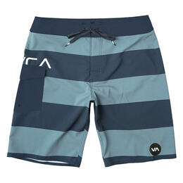 Rvca Men's Uncivil Stripe Boardshorts