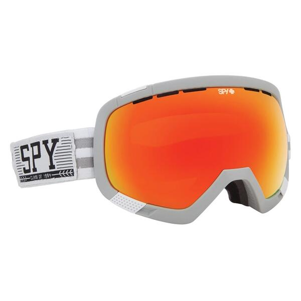 Spy Platoon JF Houle Snow Goggles with Bronze/Red Spectra Lens