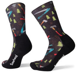 Smartwool Men's Light Sharp Things Print Crew Socks