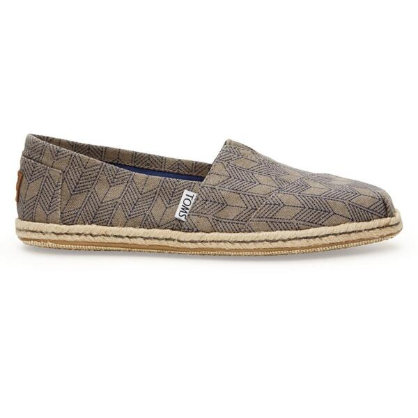 Toms Women's Canvas Shashiko Classic Casual Shoes
