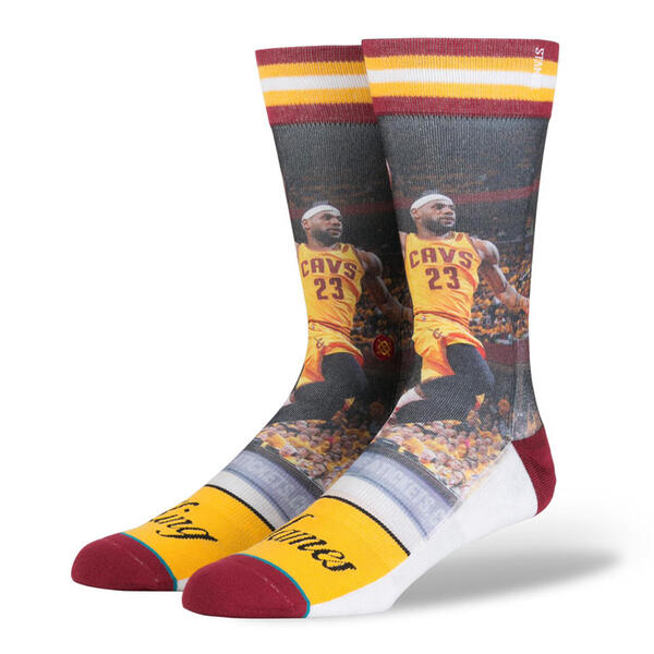 Stance Men's King James Casual Socks