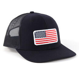 Richardson Twill Mesh USA Snapback Trucker Hat