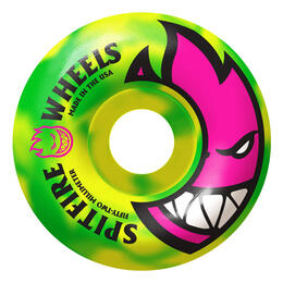 Spitfire Toxic Swirls 52 mm Skateboard Wheels