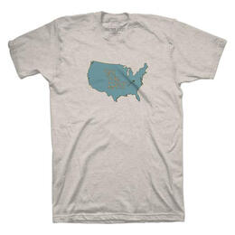 Ski The East Men's USA Short Sleeve T-Shirt