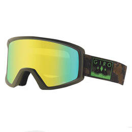 Giro Men's Blok Snow Goggles With Loden Yellow Lens