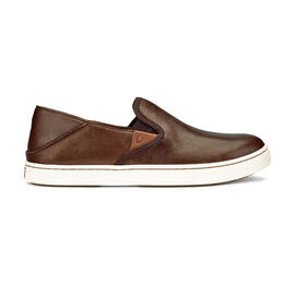 OluKai Women's Pehuea Leather Casual Slip-On Shoes