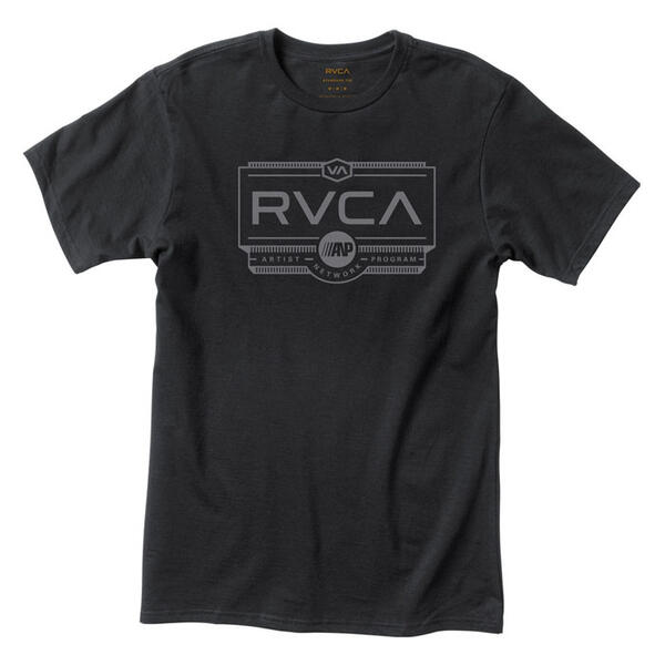 Rvca Men's Woodwork Tee Shirt
