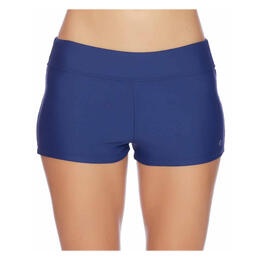 Next By Athena Women's Good Karma Jump-start Swim Shorts Navy