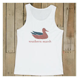 Southern Marsh Women's Authentic Flag Tank Top