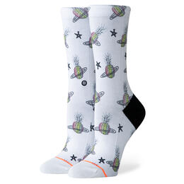 Stance Women's Pineapple Planet Crew Socks