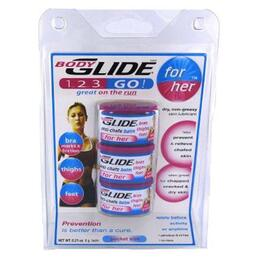 Bodyglide Anti-chafe Balm Pocket Size To Go 3-pks For Her