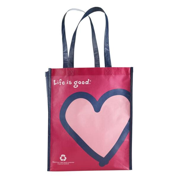 Life Is Good Recycled Shopper Tote