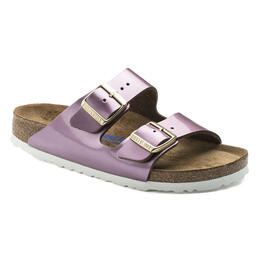 Birkenstock Women's Arizona Natural Leather Casual Sandals - Narrow