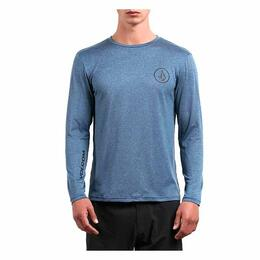 Volcom Men's Lido Heather Long Sleeve Rashguard