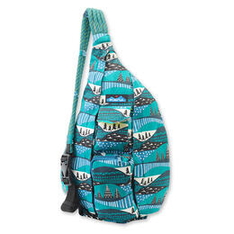 Kavu Women's Rope Bag Winterscape Backpack