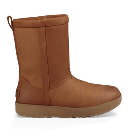 Ugg Women's Classic Short Leather Snow Boots