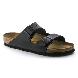 Birkenstock Men's Arizona Birko Flor Casual Sandals Black