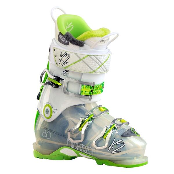 K2 Women's Minaret 80 102mm All Mountain Ski Boots '15