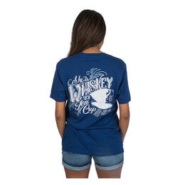 Lauren James Women's Whiskey In A Tea Cup T Shirt