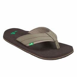 Sanuk Men's Beer Cozy 2 Sandals Brindle
